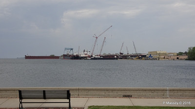 Vessels at Fincantieri Bay Shipbuilding Sturgeon Bay Wisconsin 24-05-2016 13-26-11