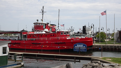 FRED A BUSSE Chicago Fireboat 1937 Sturgeon Bay WI PDM 24-05-2016 13-08-13