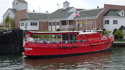 FRED A BUSSE Chicago Fireboat 1937 Sturgeon Bay WI PDM 24-05-2016 13-07-03