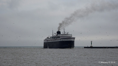 ss BADGER Arriving Manitowoc WI PDM 25-05-2016 10-14-46