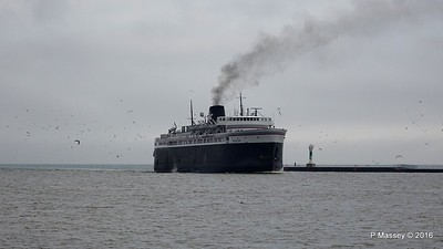 ss BADGER Arriving Manitowoc WI PDM 25-05-2016 10-14-54