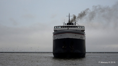 ss BADGER Arriving Manitowoc WI PDM 25-05-2016 10-16-41