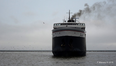 ss BADGER Arriving Manitowoc WI PDM 25-05-2016 10-16-42