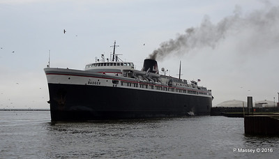 ss BADGER Arriving Manitowoc WI PDM 25-05-2016 10-20-016