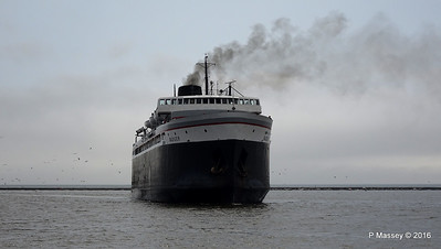 ss BADGER Arriving Manitowoc WI PDM 25-05-2016 10-16-30