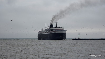 ss BADGER Arriving Manitowoc WI PDM 25-05-2016 10-14-48