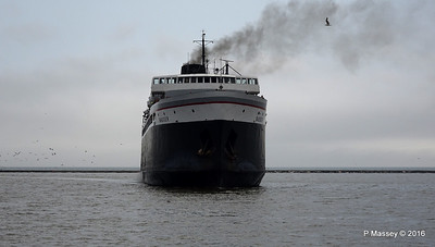 ss BADGER Arriving Manitowoc WI PDM 25-05-2016 10-16-34