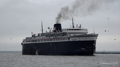 ss BADGER Arriving Manitowoc WI PDM 25-05-2016 10-15-27