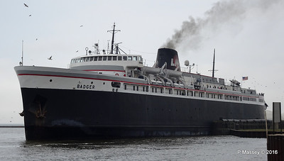 ss BADGER Arriving Manitowoc WI PDM 25-05-2016 10-21-002