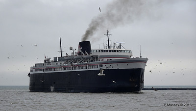 ss BADGER Arriving Manitowoc WI PDM 25-05-2016 10-15-23