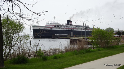 ss BADGER Arriving Manitowoc WI PDM 25-05-2016 10-23-023