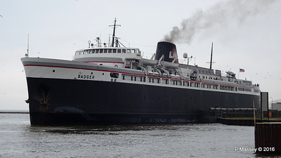ss BADGER Arriving Manitowoc WI PDM 25-05-2016 10-21-012
