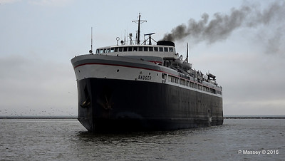 ss BADGER Arriving Manitowoc WI PDM 25-05-2016 10-17-00