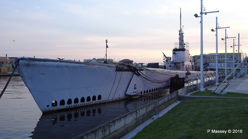 USS COBIA SS-245 Manitowoc Wisconsin Maritime Museum 23-05-2016 19-12-22