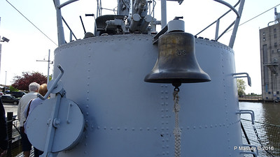 USS COBIA Bell Wisconsin Maritime Museum PDM 25-05-2016 09-10-53