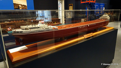 Model ss WILFRED SYKES 1949 Wisconsin Maritime Museum PDM 25-05-2016 08-32-45