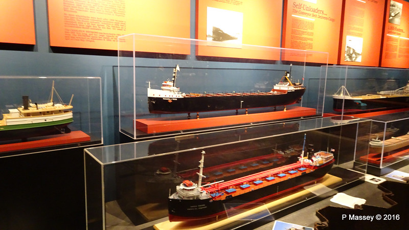Model RICHARD J BESS more Great Lakes Freighters WMM PDM 25-05-2016 09-03-08