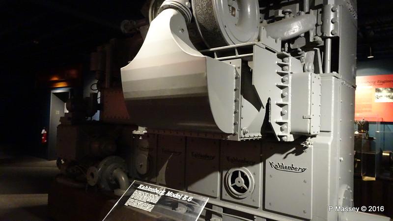 Kahlenberg Model E 6 Diesel Engine Wisconsin Maritime Museum PDM 25-05-2016 09-02-49