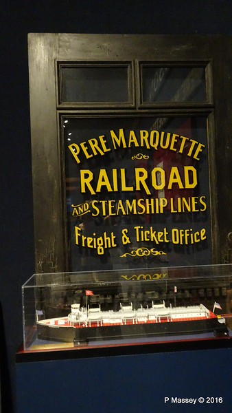 Model PERE MARQUETTE Wisconsin Maritime Museum PDM 25-05-2016 08-34-18