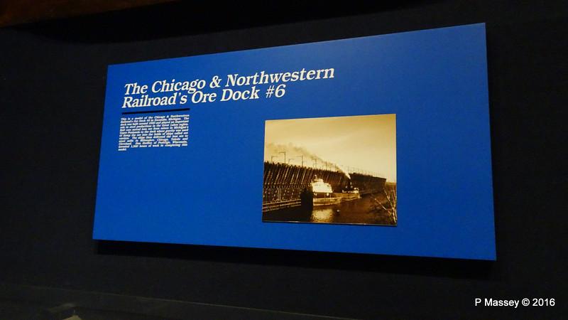 Info Railroad ore Dock Wisconsin Maritime Museum PDM 25-05-2016 08-31-55