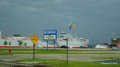 Mart Dock USS LST 393 PORT CITY PRINCESS Muskegon PDM 26-05-2016 07-40-39