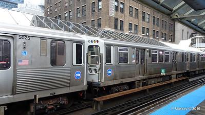 CTA Trains Adams Wabash Rail Station Chicago 31-05-2016 15-33-53