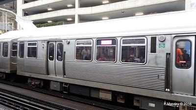 CTA Trains Adams Wabash Rail Station Chicago 31-05-2016 15-34-04