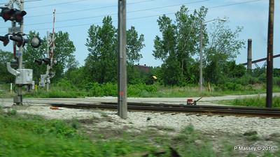 Railroad Crossing US 12 Dunes Hwy ArcelorMittal Steel Mills Burns Harbor 31-05-2016 11-08-07