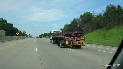 Oversize Load Past I 94 US 131 Junction MI PDM 31-05-2016 09-19-00 31-05-2016 09-19-00