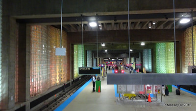 Chicago O'Hare CTA L Station Terminal 1 ORD 31-05-2016 16-28-025