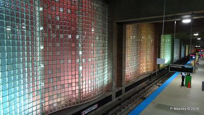 Chicago O'Hare CTA L Station Terminal 1 ORD 31-05-2016 16-28-030