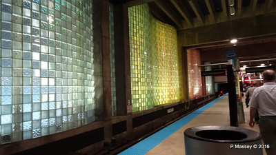 Chicago O'Hare CTA L Station Terminal 1 ORD 31-05-2016 16-27-034
