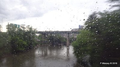 Rain I 90 by CTA Blue Line to ORD Chicago 31-05-2016 16-19-45