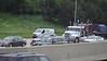 Fleet MACK Marron Peterbilt Crabtree Trucking I 90 by CTA Blue Line Chicago 31-05-2016 14-03-48
