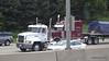 Fleet MACK Marron Peterbilt Crabtree Trucking I 90 by CTA Blue Line Chicago 31-05-2016 14-03-44
