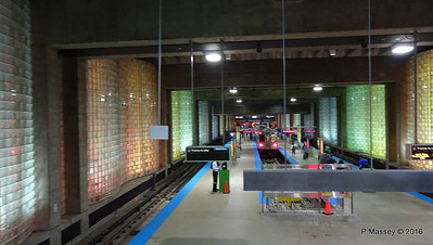 Chicago O'Hare CTA L Station Terminal 1 ORD 31-05-2016 16-28-028