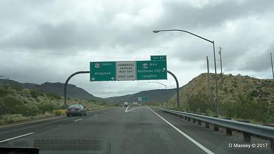 US 93 Turn to SR 68 W to Laughlin Arizona DRM 31-03-2017 11-58-48