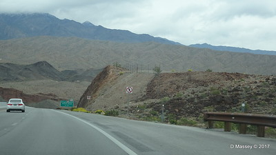 US-93 S from Hoover Dam DRM 31-03-2017 09-49-43