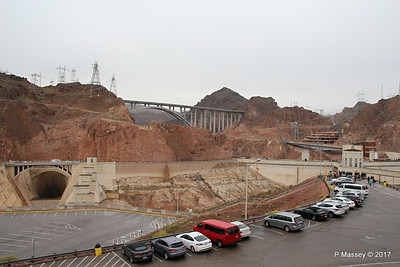 Mike O'Callaghan – Pat Tillman Memorial Bridge US-93 & Hoover Dam from Arizona Side 31-03-2017 09-14-26
