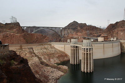 Mike O'Callaghan – Pat Tillman Memorial Bridge US-93 & Hoover Dam from Arizona Side 31-03-2017 09-10-00