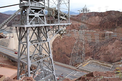 Hoover Dam & Electricity Pylons Nevada 31-03-2017 09-40-42