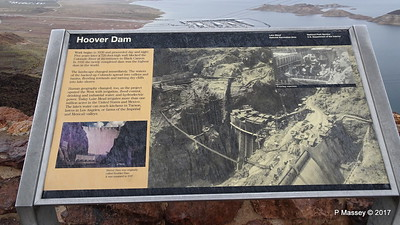 Hoover Dam Info Lake Mead Overlook Nevada 31-03-2017 08-51-01