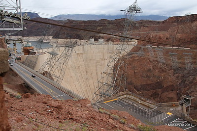 Hoover Dam & Electricity Pylons Nevada 31-03-2017 09-41-15