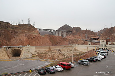 Mike O'Callaghan – Pat Tillman Memorial Bridge US-93 & Hoover Dam from Arizona Side 31-03-2017 09-14-28