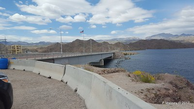 Davis Dam Pyramid Canyon Lake Mohave Lake Mead National Recreation Area Arizona PDM 31-03-2017 20-50-09