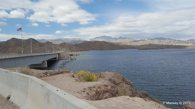 Davis Dam Pyramid Canyon Lake Mohave Lake Mead National Recreation Area Arizona PDM 31-03-2017 20-50-05