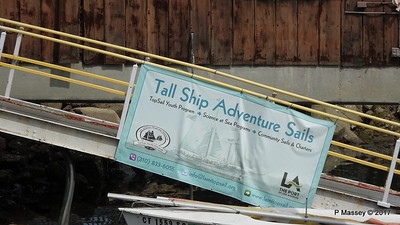 Topsail Youth Tall Ship Adeventure Sails Ports O' Call Village San Pedro 17-04-2017 07-33-15