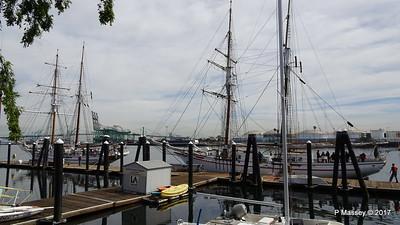 Brigantines EXY JOHNSON & IRVING JOHNSON Ports O' Call Village San Pedro 17-04-2017 07-34-11