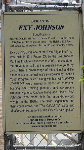 Brigantine EXY JOHNSON Info Ports O' Call Village San Pedro LA 17-04-2017 07-34-58