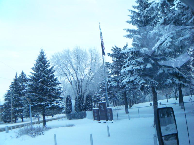 December 6th 2010-Cemetary in Morris, MN